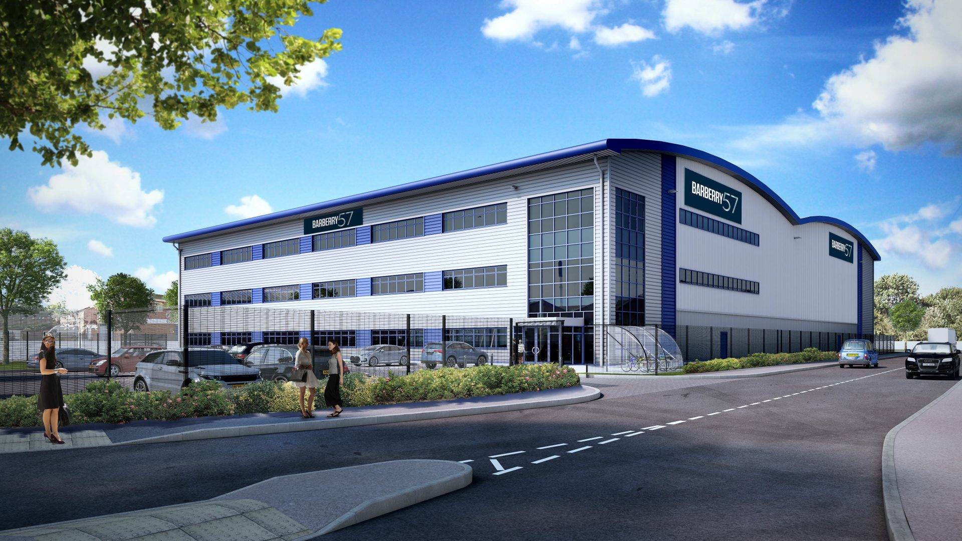 An artist's impression of the new headquarters for IMI Truflo Marine at the Advanced Manufacturing Hub in Birmingham.